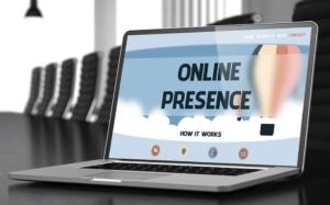 Online Presence Computer Image