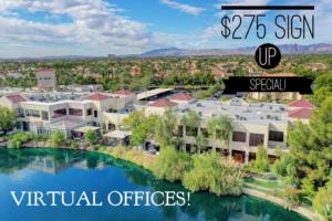 $275 Business Suites Sign Up Flyer