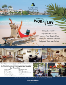 Desert Shores Community Membership with Lagoon in image for Tenants of Lakeside Business Suites
